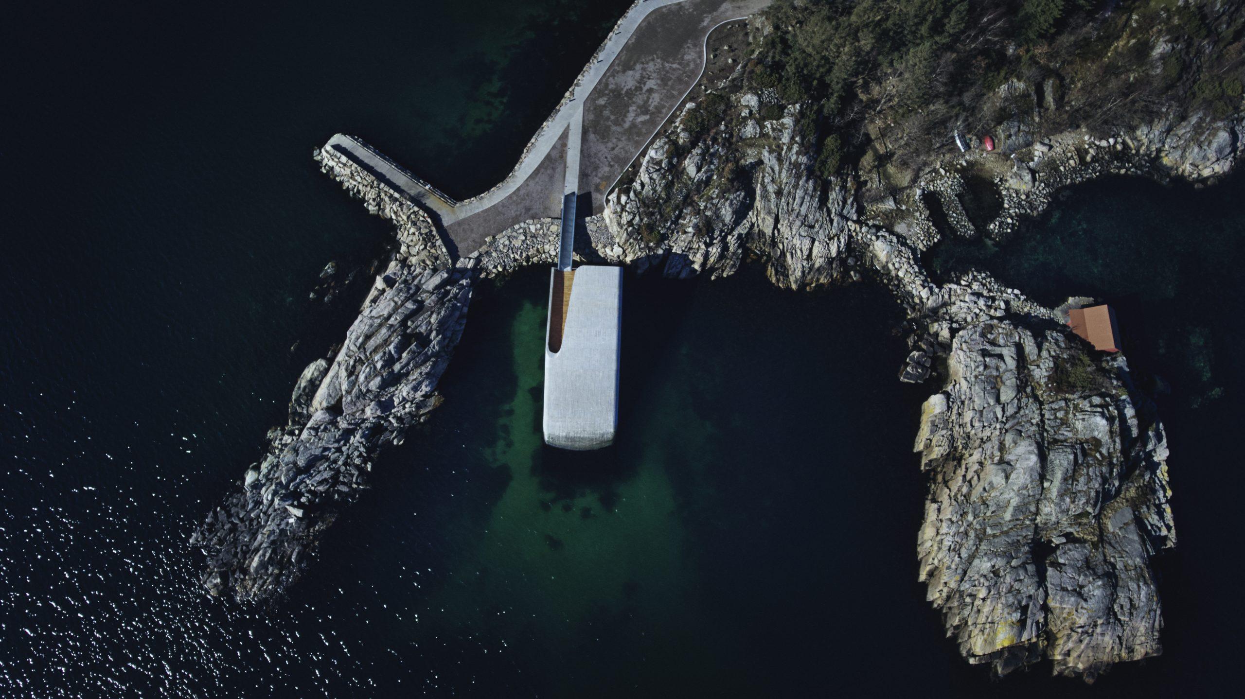 Under, Lindesnes, Norwegen, Luftbild, Foto: André Martinsen